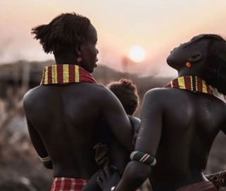 Tribes of Omo valley